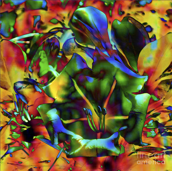 Fine Art Print Art Print featuring the mixed media Kaleidoscope by Patricia Griffin Brett