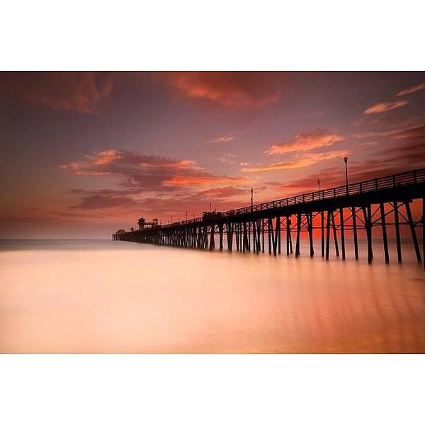 Art Print featuring the photograph Long Exposure (180 Seconds) At The by Larry Marshall