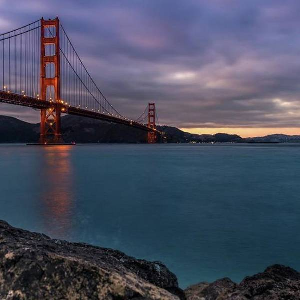 Usa Art Print featuring the photograph #goldengatebridge #goldengate #bridge by Fink Andreas