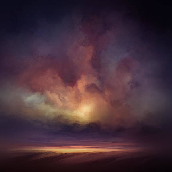 Lc Bailey Art Print featuring the mixed media Morning Sunrise by Lonnie Christopher
