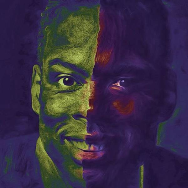 Eyes Art Print featuring the photograph #oscars @chrisrock @jerryseinfeld by David Haskett II