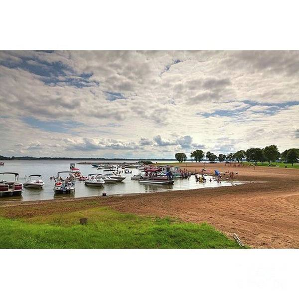 Rendlake Art Print featuring the photograph Americans At Play  south Marcum by Larry Braun