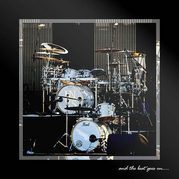Drums Art Print featuring the photograph And The Beat Goes On.... by Holly Kempe