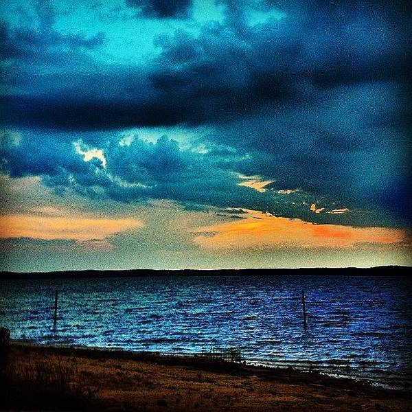Instaclouds Art Print featuring the photograph Before The Storm by Katie Williams