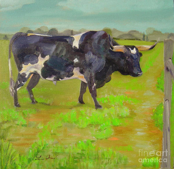 Southwest Art Print featuring the painting Bold Beauty by Lilibeth Andre
