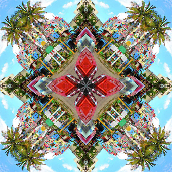 Cuba Art Print featuring the photograph Cuban Kaleidoscope by Marla Craven