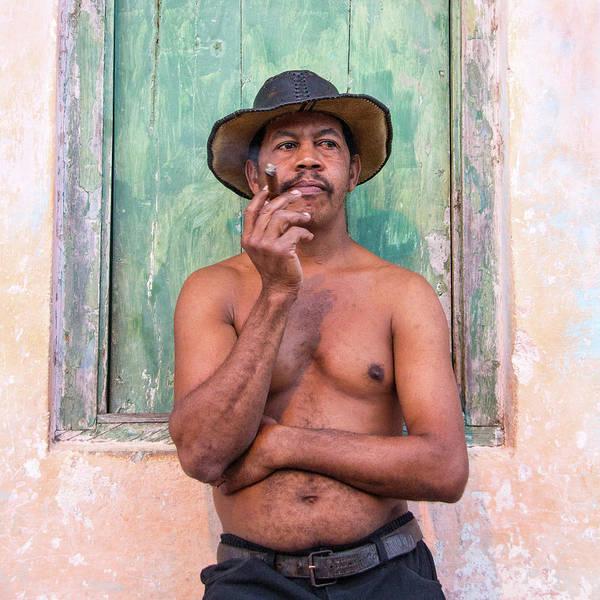 Cuba Art Print featuring the photograph El Hombre by Marla Craven