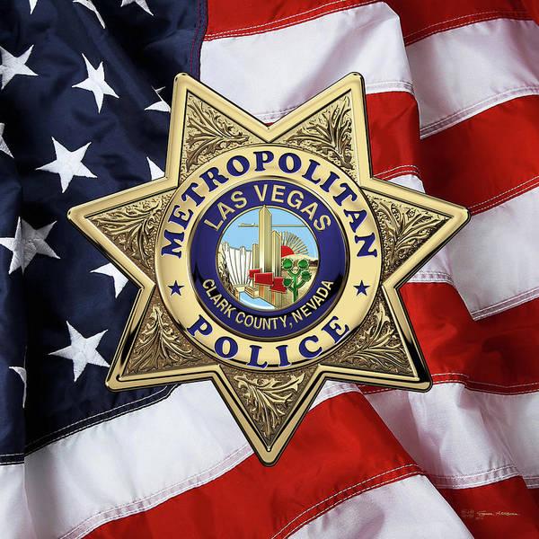 Las Vegas Metropolitan Police Department Patch LVMPD