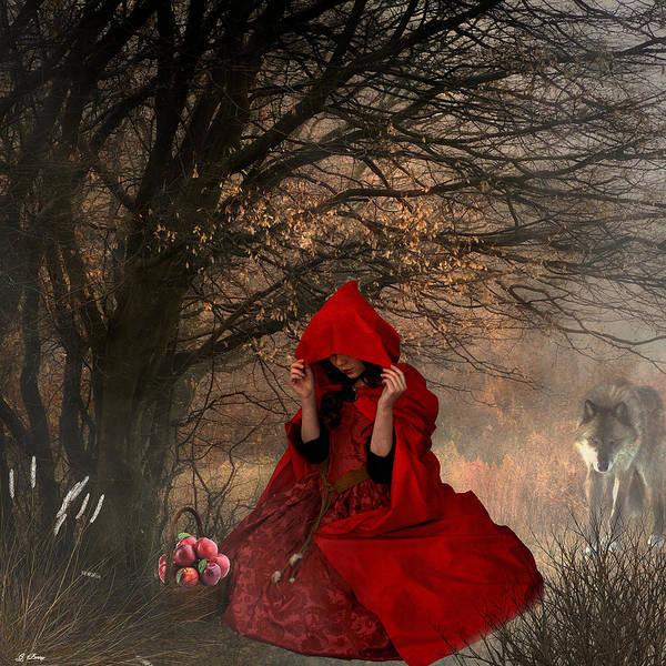 Little Red Riding Hood Art Print by G Berry