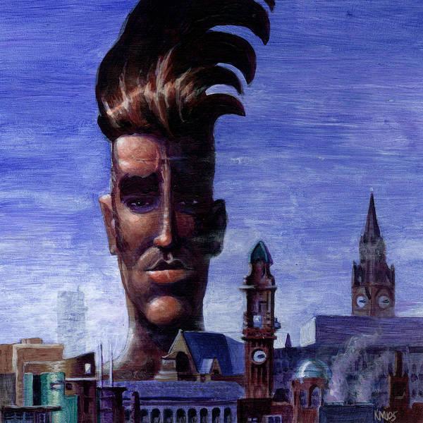 Morissey Art Print featuring the painting Morissey by Ken Meyer jr