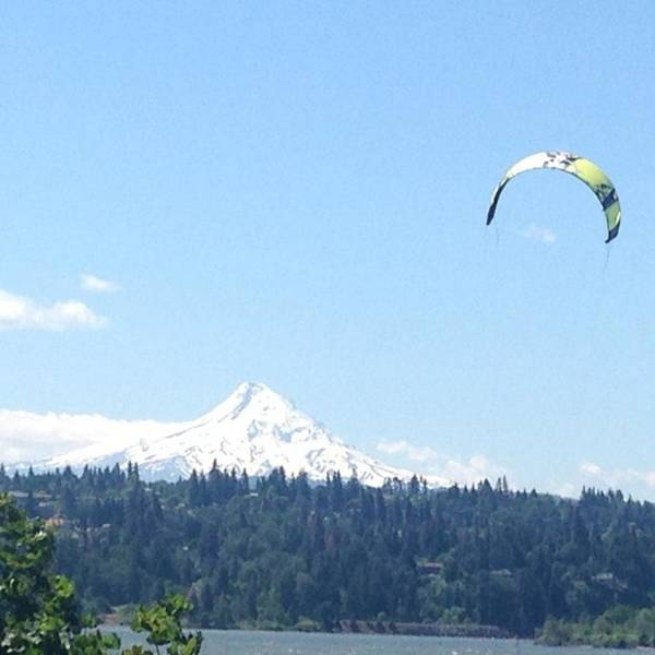 Beautiful Art Print featuring the photograph Mt. Hood Is So Majestic Perfect View Of by Beate Weiss-krull