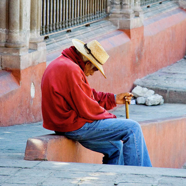 Mexico Art Print featuring the photograph Siesta Time by Marla Craven