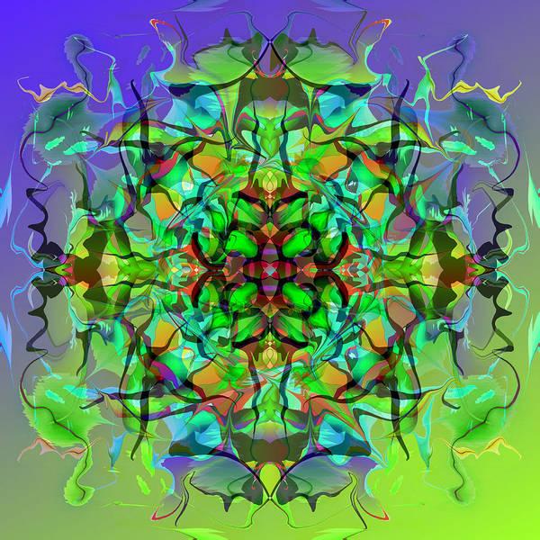Solemn Art Print featuring the digital art Solemn Cross by Peter Shor