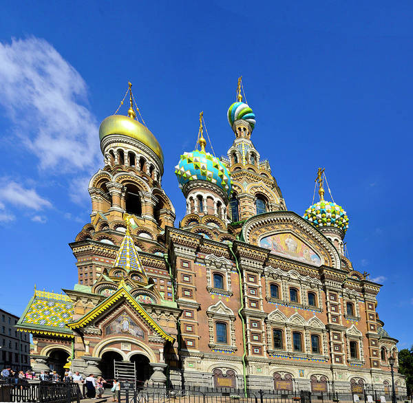 Cruise 2013 Art Print featuring the photograph St. Petersburg Church of the Spilt Blood by Richard Henne