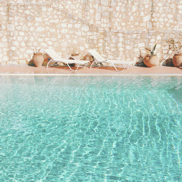 Water Art Print featuring the photograph Swimming Pool V by Cassia Beck