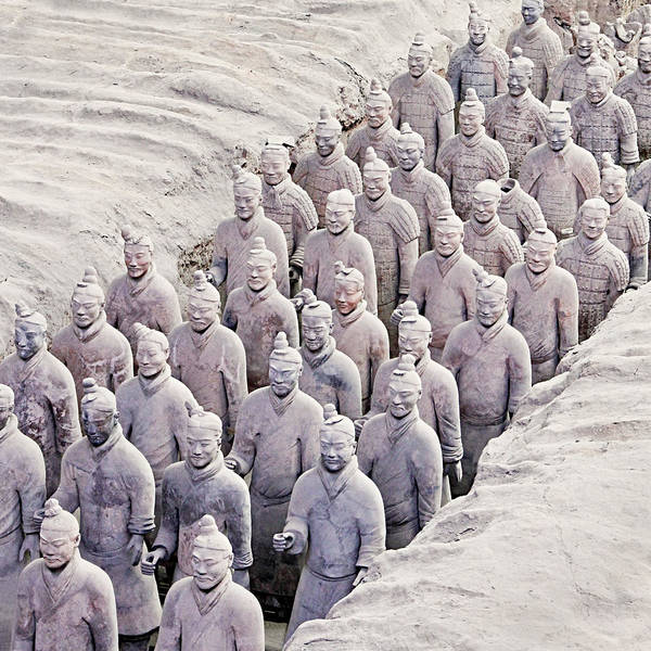 China Art Print featuring the photograph Terracotta Warriors by Marla Craven