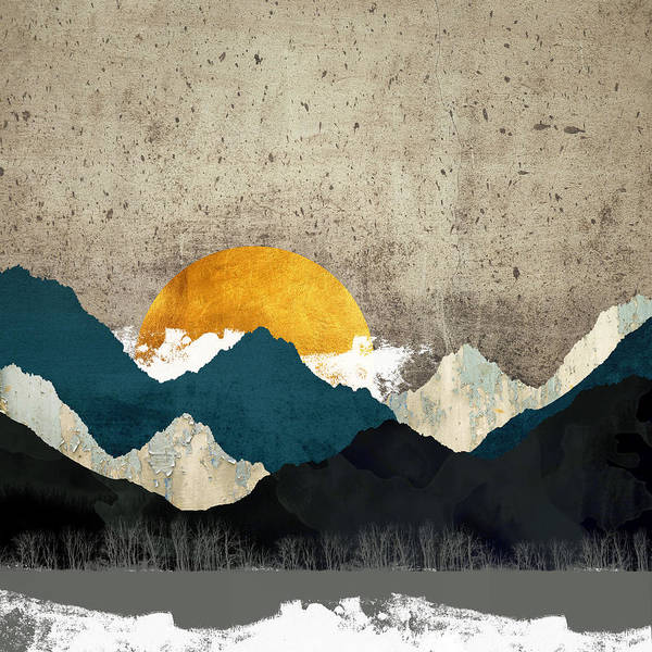 Thaw Art Print featuring the digital art Thaw by Katherine Smit