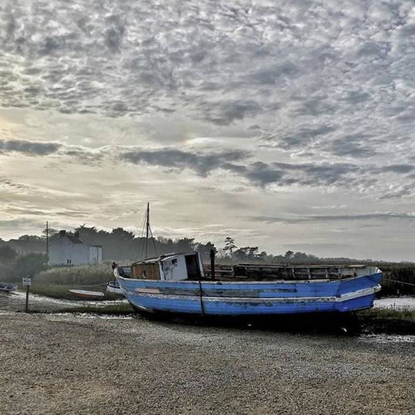 Beautiful Art Print featuring the photograph The Fixer-upper, Brancaster Staithe by John Edwards
