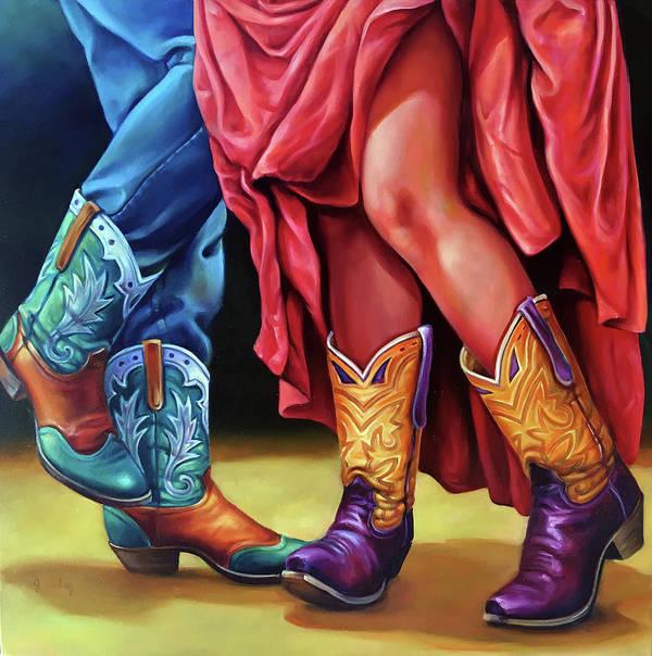 The Flirt Art Print By Robert And Jill Pankey
