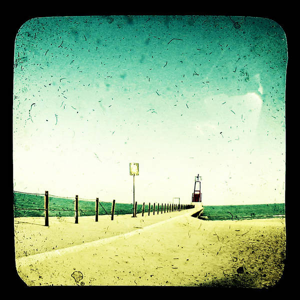 Beach Art Print featuring the photograph These Days Are Gone by Dana DiPasquale