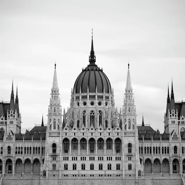 Hungarian Parliament Building Art Print featuring the photograph Hungarian Parliament Building by Alex Holland