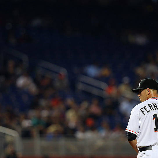 People Art Print featuring the photograph Washington Nationals V Miami Marlins by Mike Ehrmann