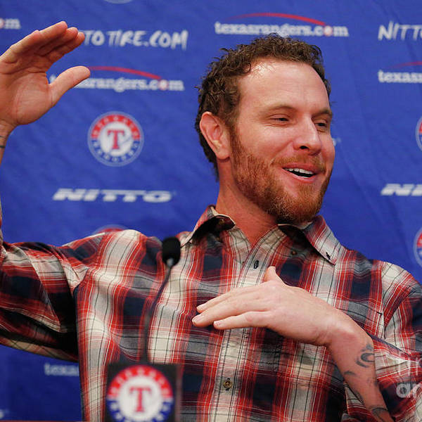 People Art Print featuring the photograph Texas Rangers Introduce Josh Hamilton by Tom Pennington