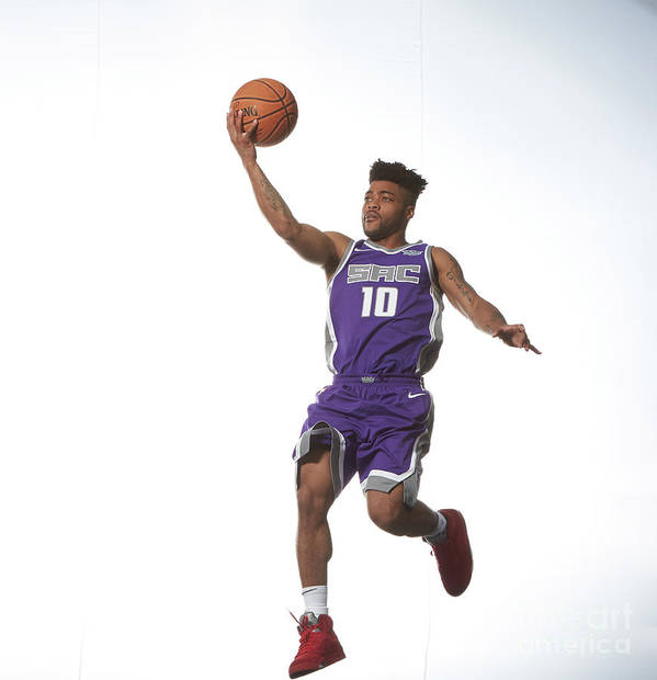 Nba Pro Basketball Art Print featuring the photograph Rookie Photo Shoot 2017 by Nathaniel S. Butler