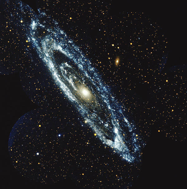 Outdoors Art Print featuring the photograph Andromeda Galaxy by Stocktrek