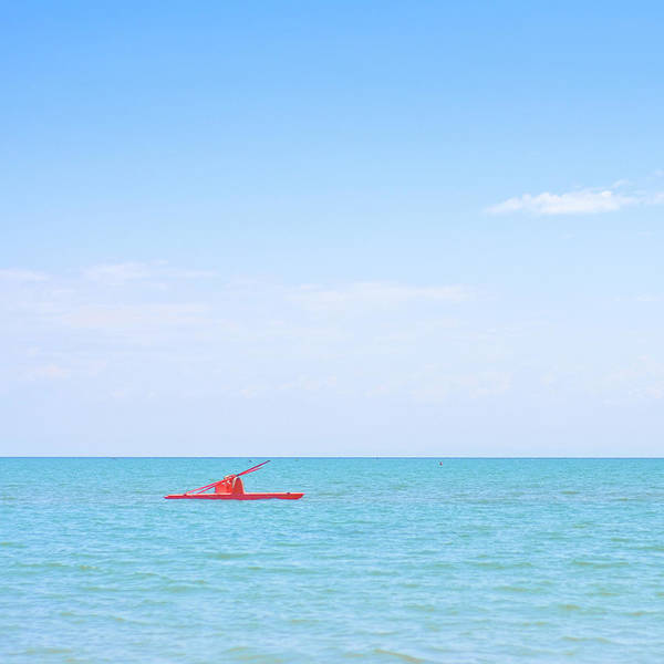 Scenics Art Print featuring the photograph Boat by Michael Kohaupt