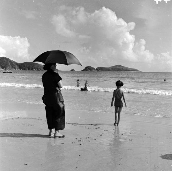 Repulse Bay Art Print featuring the photograph Chinese Nanny by Horace Abrahams