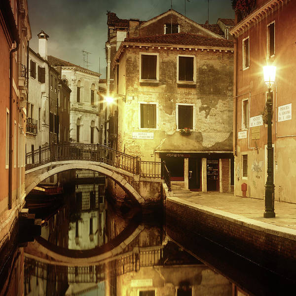 Empty Art Print featuring the photograph Dreaming Venice by Mammuth