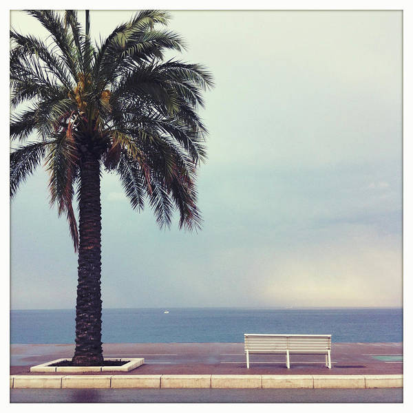 Tranquility Art Print featuring the photograph French Riviera by Ixefra