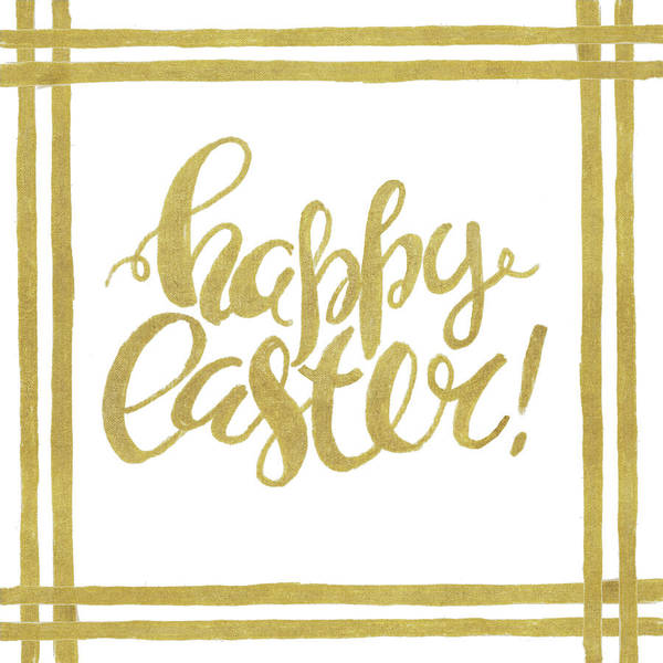 Hello Art Print featuring the mixed media Hello Easter by Patricia Pinto