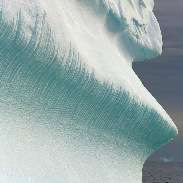 Iceberg Art Print featuring the photograph Iceberg, Grandidier Passage, Antarctic by Eastcott Momatiuk