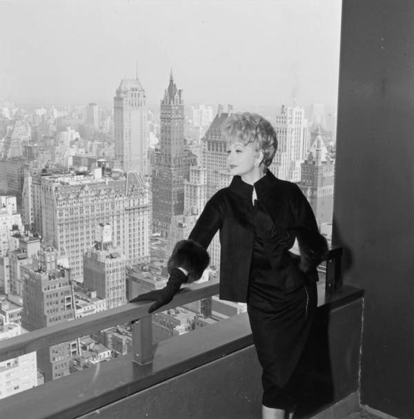 Apartment Art Print featuring the photograph Lucille Ball by Hulton Archive