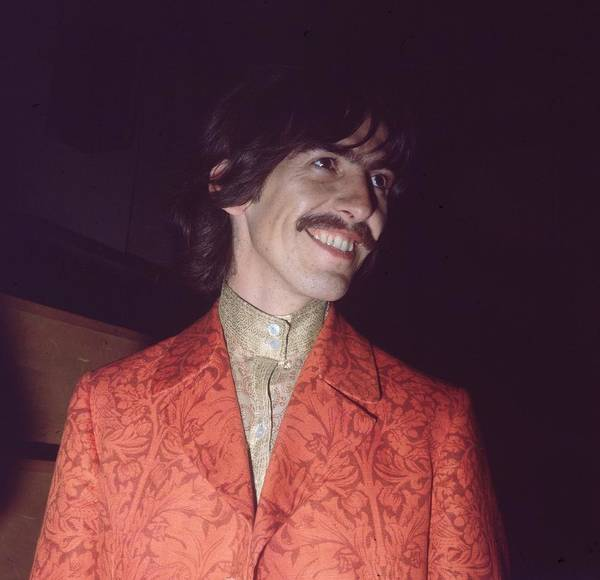 George Harrison Art Print featuring the photograph Nice Jacket George by John Williams