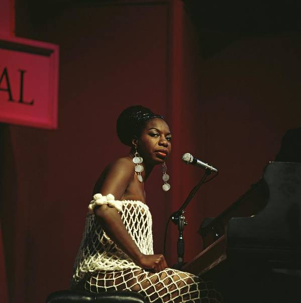 Nina Simone Art Print featuring the photograph Nina Simone by David Redfern