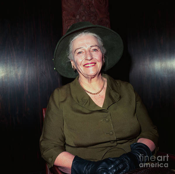 People Art Print featuring the photograph Pearl S. Buck by Bettmann