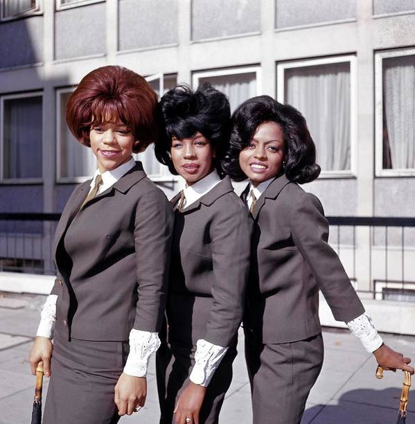 Mary Wilson Art Print featuring the photograph Photo Of Supremes And Florence Ballard by Ca