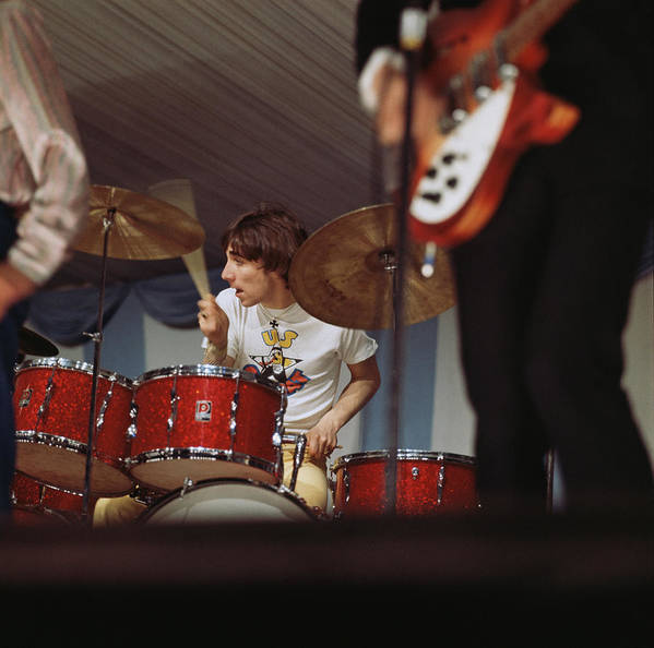 Music Art Print featuring the photograph Photo Of Who And Keith Moon by David Redfern