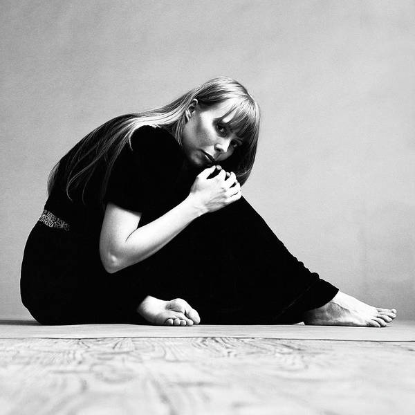 Singer Art Print featuring the photograph Portrait Of Joni Mitchell by Jack Robinson