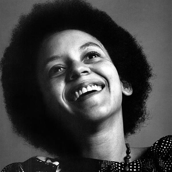 People Art Print featuring the photograph Portrait Of Nikki Giovanni by Jack Robinson