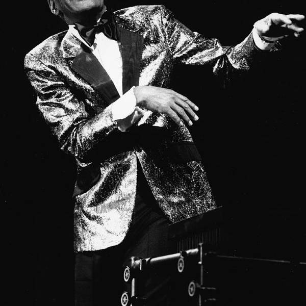 Singer Art Print featuring the photograph Ray Charles Dances On Stage by Hulton Archive