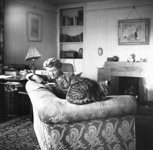 1950-1959 Art Print featuring the photograph Relaxing by Carl Sutton