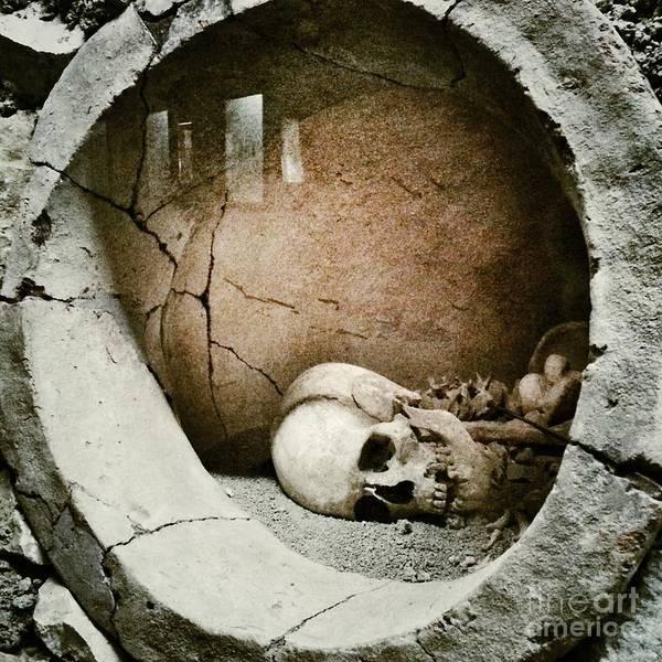 Horror Art Print featuring the photograph Skull by Temizyurek
