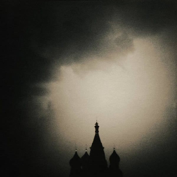 Red Square Art Print featuring the photograph St. Basils Cathedral by Mel Curtis