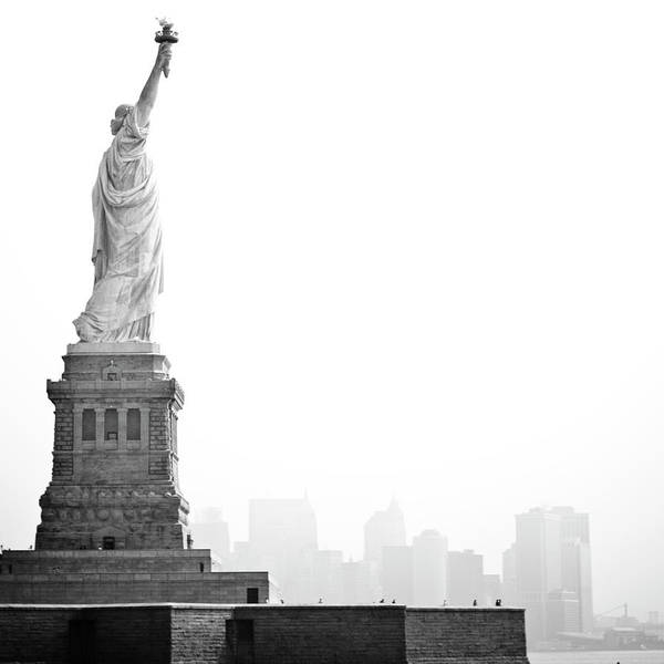 Statue Art Print featuring the photograph Statue Of Liberty by Image - Natasha Maiolo