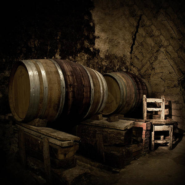 Fermenting Art Print featuring the photograph Wine Cellar by Fotografias De Rodolfo Velasco