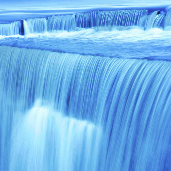 Scenics Art Print featuring the photograph Xl Waterfall Close-up by Sharply done